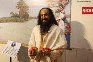 Sri Sri Ravi Shankar - Spiritual leader - celebrity wax museum
