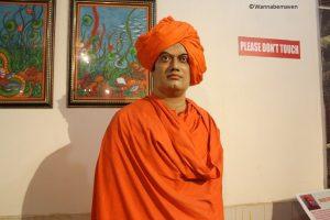 Swami Vivekananda - celebrity wax museum