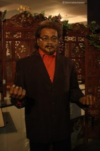 Hariharan - Indian Singer - celebrity wax museum