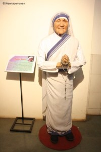 Mother Theresa - celebrity wax museum