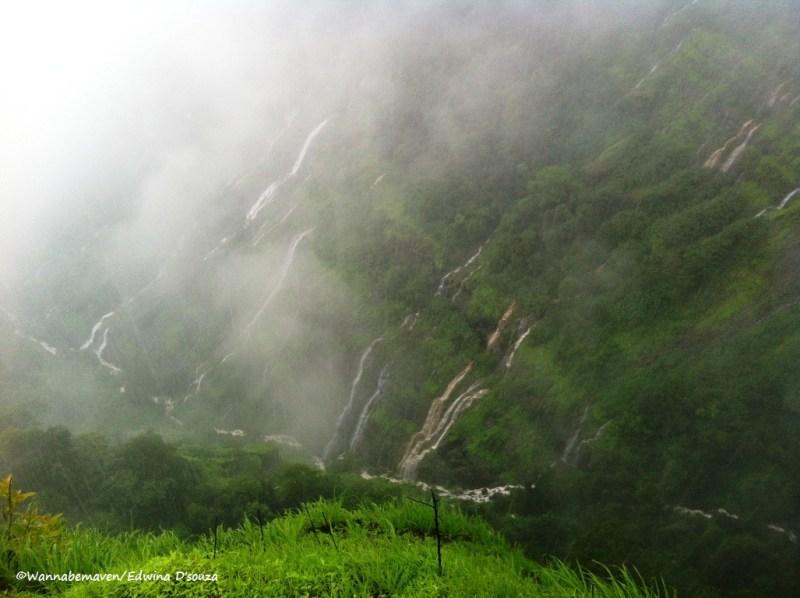 Cascading waterfalls - day trip to matheran