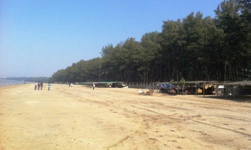 Jhampore beach Daman