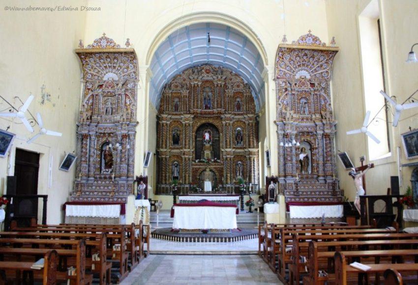 Intricate at Bom Jesus Church - Daman