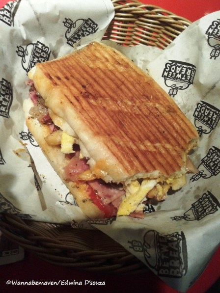 The after morning sandwich - Between Breads Bandra review