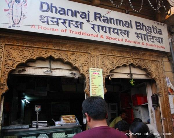 Dhanraj Bhatia Sweets Jaisalmer - Food in Jaisalmer