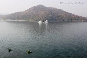 fatehsagar lake (1) - budget trip to Udaipur