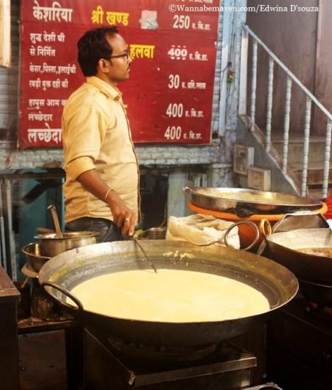 Indore food guide - rabdi