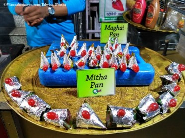 Indore food guide - mitha paan