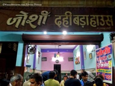 Indore food guide - joshi dahi bada