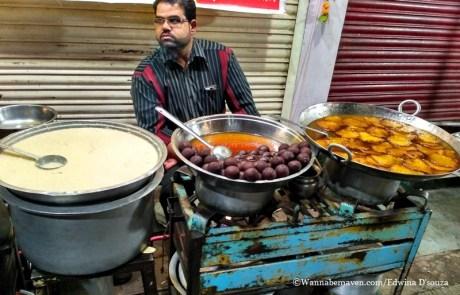 Indore food guide - gulab jamun-malpua