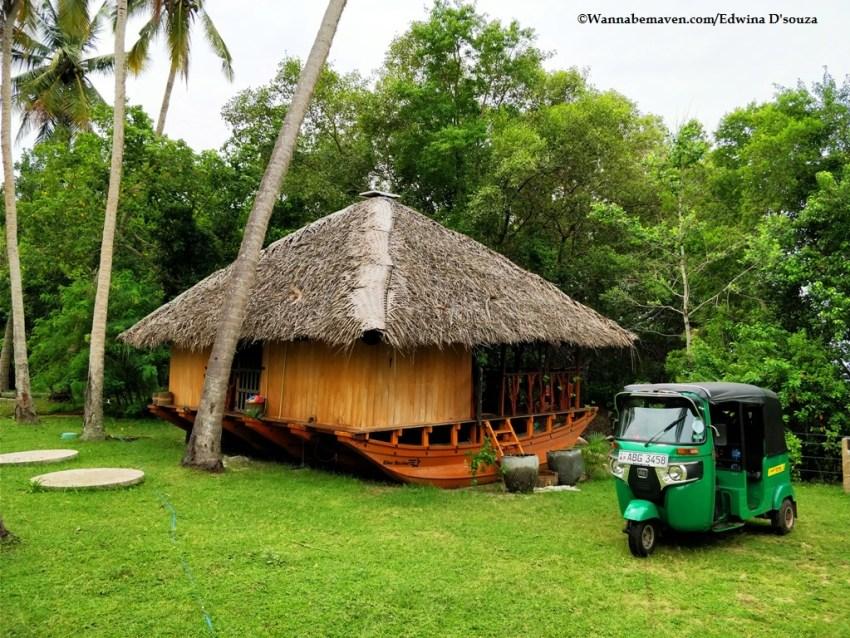 accommodation Sri Lanka-rekawa-catamaran lagoon house