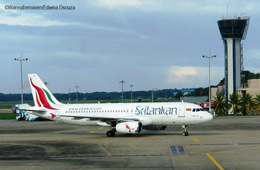 Sri Lankan airlines-backpacking in sri lanka