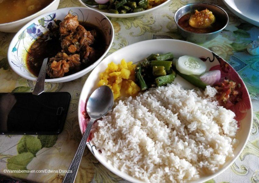 Mylliem chicken-khasi cuisine-meghalaya