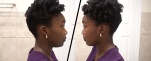 Easy Faux Tapered Cut