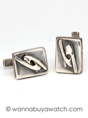 Mexican Sterling Silver Cufflinks