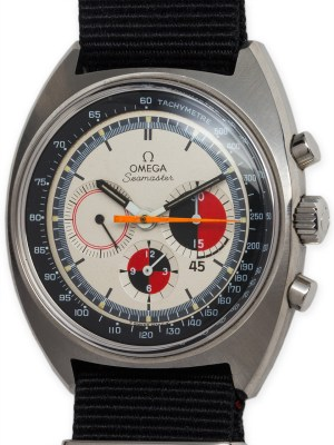 Omega SS Seamaster Soccer Timer circa 1969