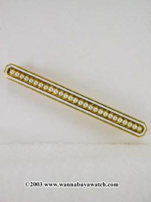 Antique Enamel Pin