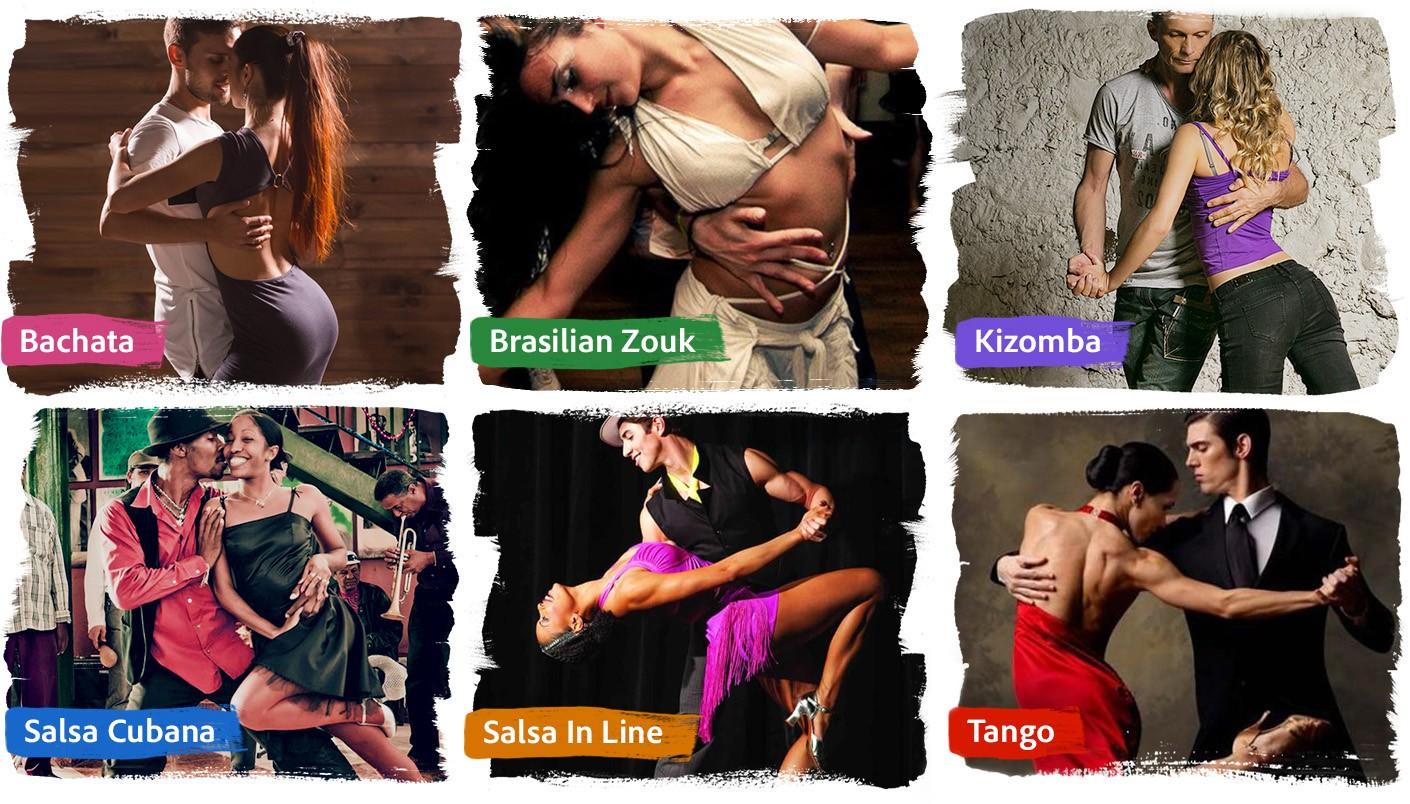 Illustration Dance Types