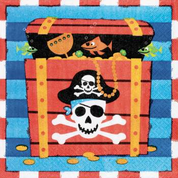 Pirates Treasure Lunch Napkins-0