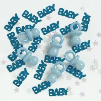 It's a Boy + Pacifier Confetti-0