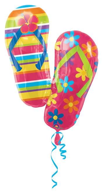 Flip Flop Super Shape Balloons 33in P35-0