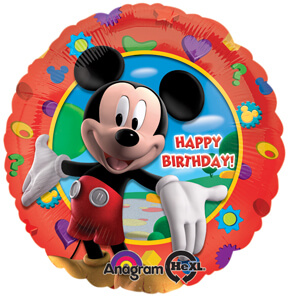 "18"" Mickey's Clubhouse Birthday Balloons S50-0"