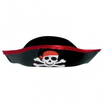 Pirate Treasure Plastic Hat-0