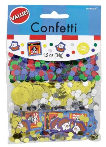 Confetti Value Pack Pirates Treasure-0