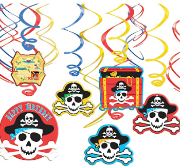 Decoration Swirl Value Pack Pirates-0