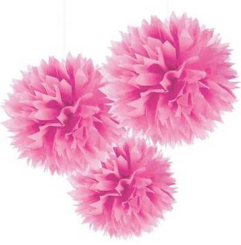Fluffy Decoration Pink - 3CT-0