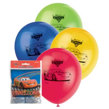"Cars 2 Movie Balloons 12""-0"