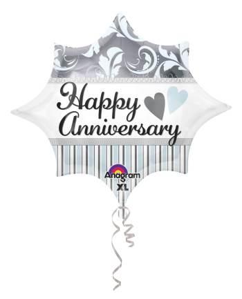 "18"" Elegant Happy Anniversary Burst S60-0"