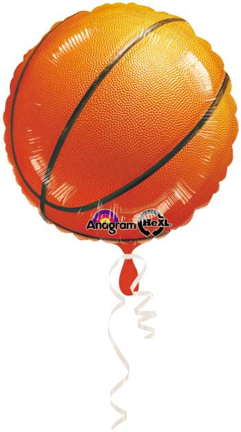 """Championship Basketball Balloons 18"""" S40-0"""