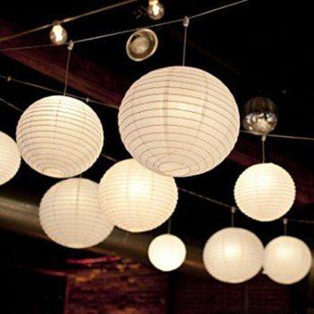 Paper Lantern White - 1PC-0