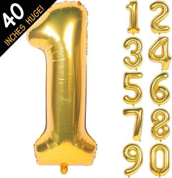 Numerical Balloons No. 1