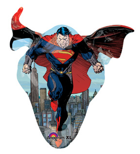Superman - Man of Steel Supershape Balloons-0
