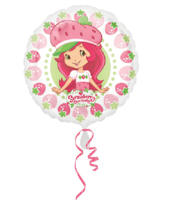 Strawberry Shortcake Pattern Balloon 18-0