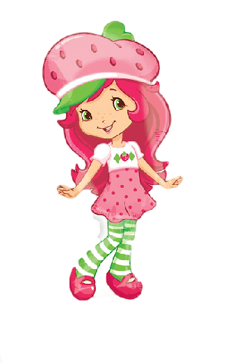 "Strawberry Shortcake Pattern Balloon 31""-0"