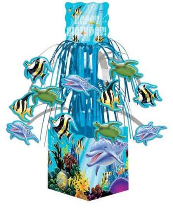 Underwater Theme Party Mini Cascade Centerpiece -0