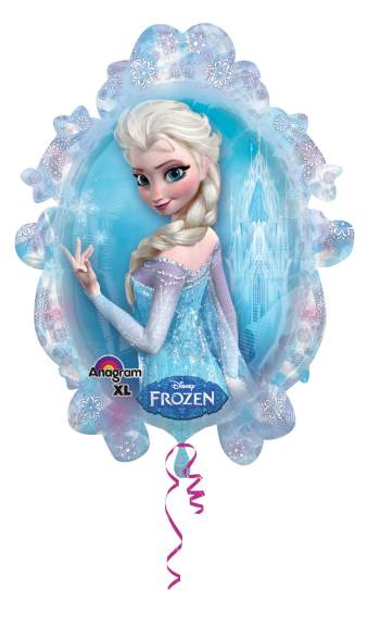 Frozen Birthday Supershape Balloon P35-0