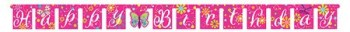 Butterfly Sparkle Letter Banner - 10FT-0