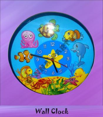 Wall Clock-Underwater -0