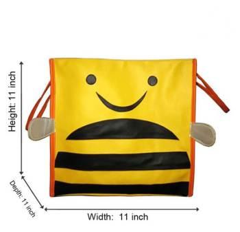 Personalized Storage Bin With Lid -Honeybee-0