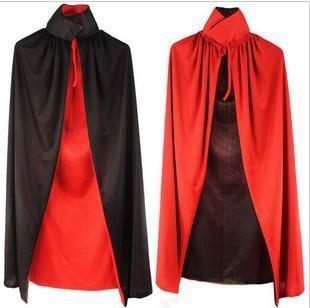 Kids Black & Red Reversible Vampire Cape-0
