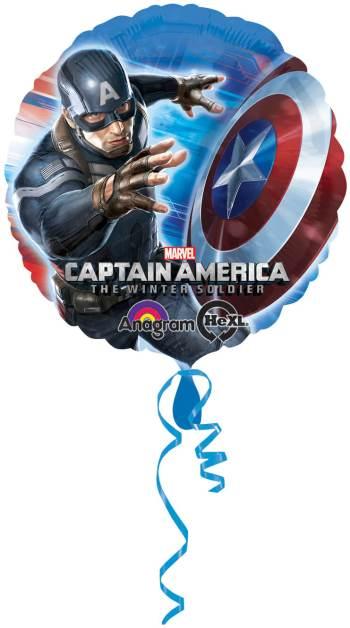 """Captain America Balloon 18""""-0"""