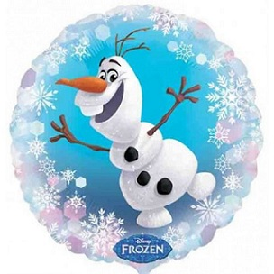 "Frozen Olaf Balloons 18"" S60-0"