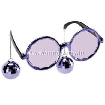 Disco Ball Hanging Shades - Silver-0