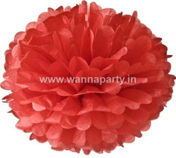 Fluffy Decoration Red-0
