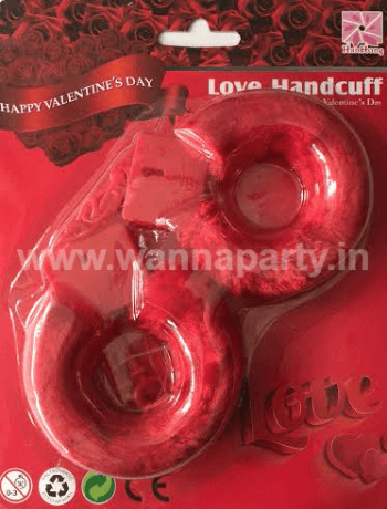 Hen Party Hand Cuffs - RED-0