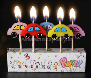 Cars Candle - 5PC-0